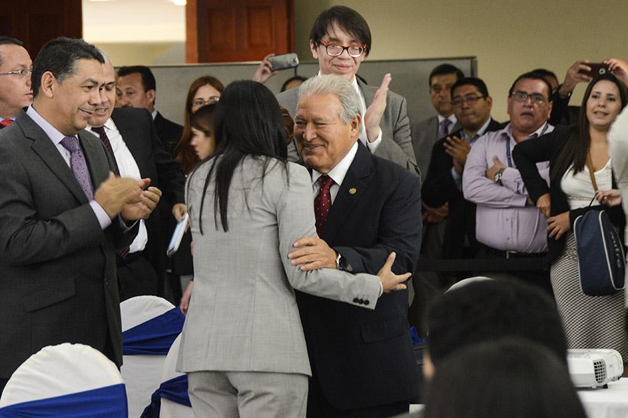 El presidente Salvador Sánchez Cerén participó en la inauguración de la cumbre de la CELAC.