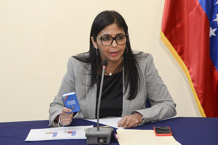 La canciller venezolana se mostró satisfecha por la conclusión de la cumbre extraordinaria. Rodríguez reafirmó la decisión de  Venezuela de no ser parte de la Organización de Estados Americanos (OEA).
