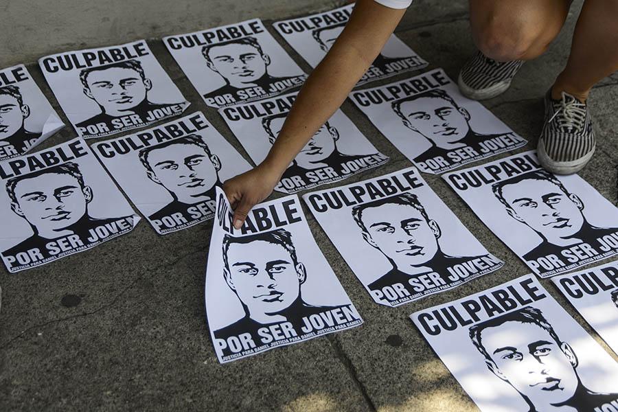 La familia de Daniel Alemán fue quien denunció ante los medios de comunicación la forma arbitraria en la que se realizó su detención.
