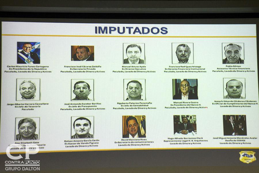 La Fiscalía General de la República acusó al expresidente de Mauricio Funes de diseñar una red de extracción de fondos públicos, desviando $351 millones de dólares.
