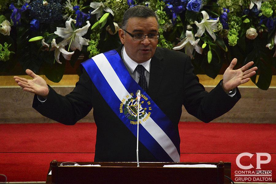 Mauricio Funes, que gobernó el país entre 2009 y 2014 se encuentra en Nicaragua bajo la condición de asilado político.