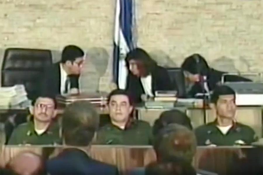 17 militares, entre actores intelectuales y materiales, fueron juzgados por la masacre en la UCA. El coronel Guillermo Benavides, fue el único en ser condenado 30 años de prisión, por haber dado la orden de matar a los padres jesuitas. Con la implementación de la Ley de Amnistía, el militar recobró su libertad.