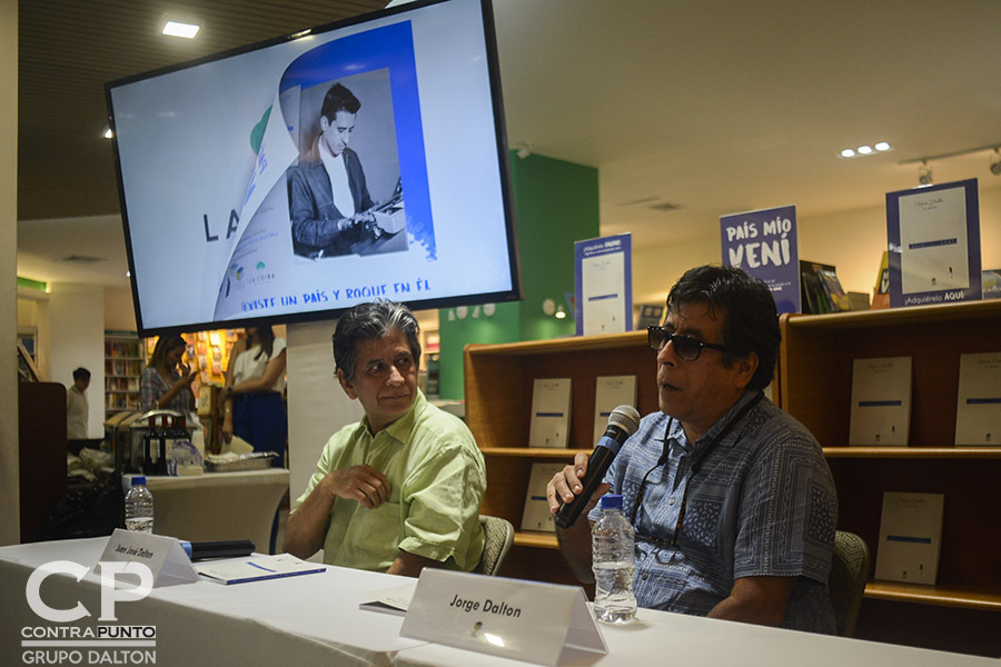 Jorge Dalton, hijo del poeta Roque Dalton habla del libro