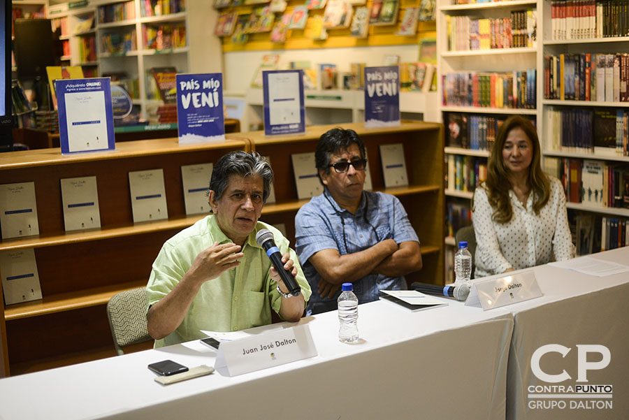Juan José Dalton, hijo del poeta Roque Dalton habla del lanzamiento  de