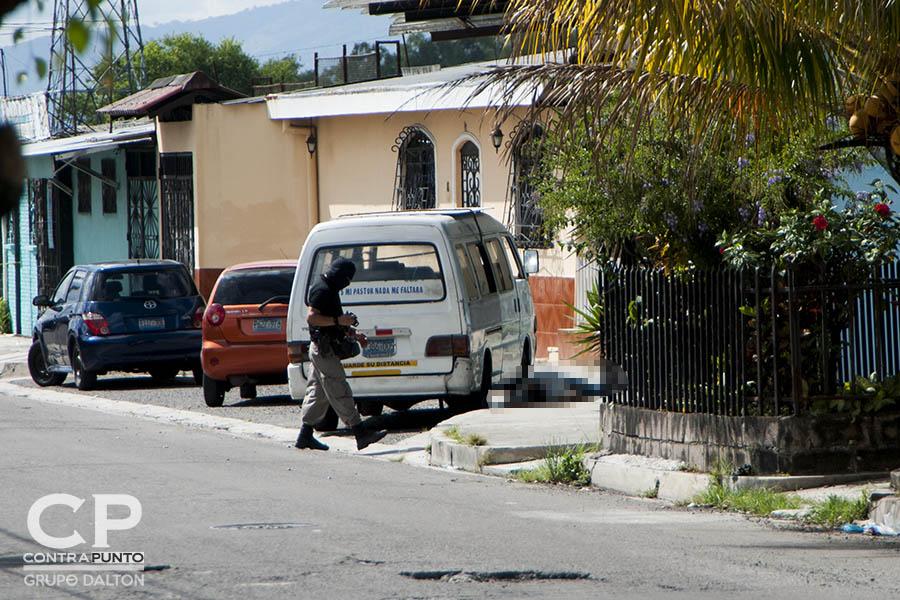Samuel Rivas, camarógrafo de Megavisión, fue asesinado en las afueras de la iglesia donde se congregaba en la residencial Altavista, San Martín.