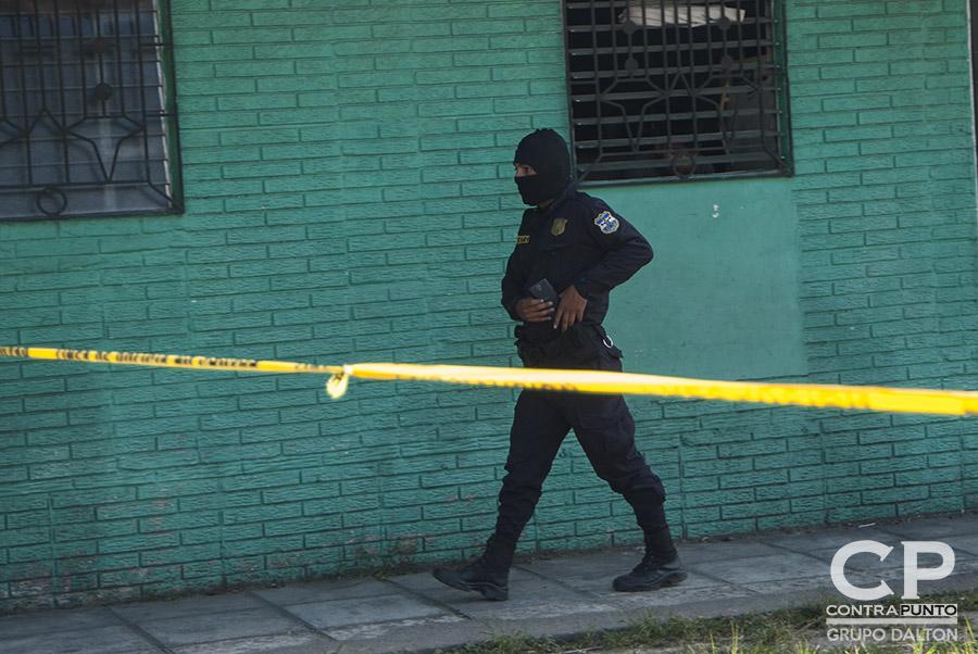 Se realizó un operativo de captura, sin que se conociera si hay sospechoso detenidos.