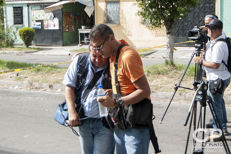 Colegas y amigos de Samuel Rivas lamentan la muerte del camarógrafo en manos de la delincuencia.