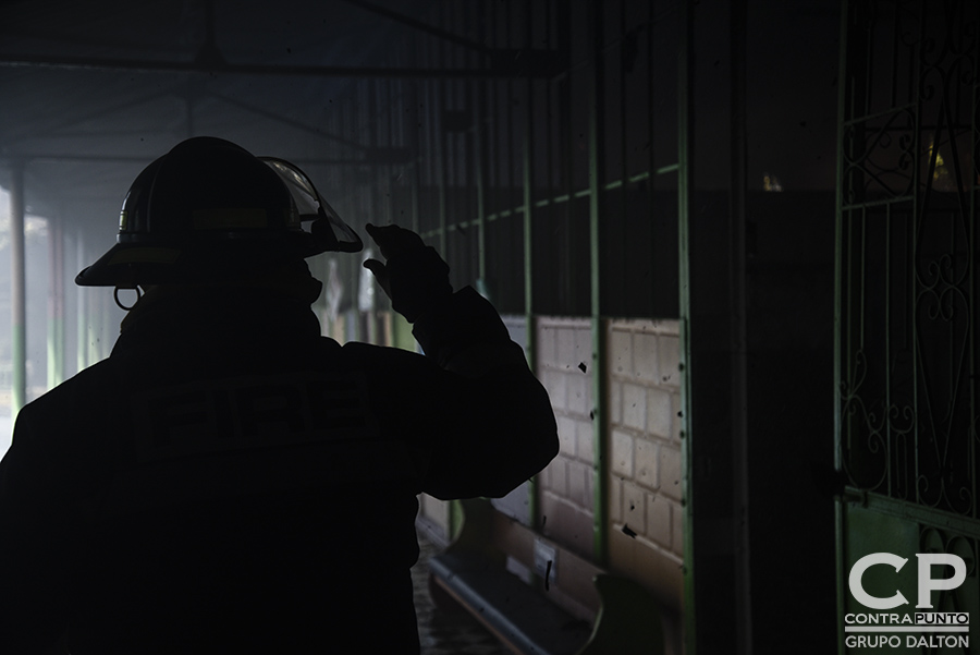 Un voraz incendio destruyó el  centro de desarrollo Integral Sala Cuna Externa, ubicado sobre la 9a. Calle Oriente y Avenida Cuscatancingo, junto a la Alcaldía de San Salvador. 125 niños y no menos de 20 personas que trabajaban en la guardería fueron evacuadas, sin que se registraran víctimas.