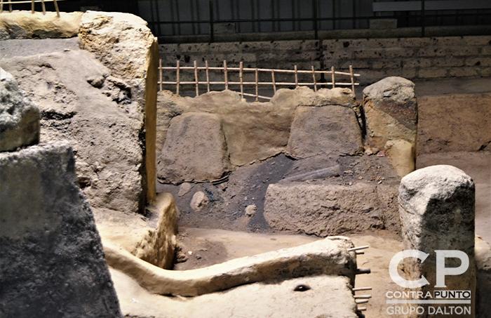 En el año 600 después de Cristo del volcán Caldera hizo erupción y soterró la población con inmensas capas de cenizas.