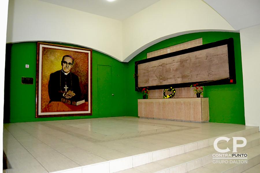 Antigua ubicación de la tumba de Monseñor Romero