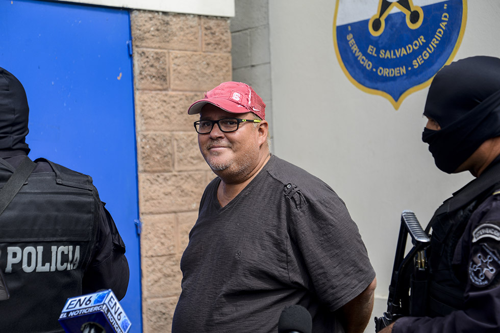 De ser culpable, González cumpliría una condena de entre dos y ocho años de prisión. Foto: Vladimir Chicas