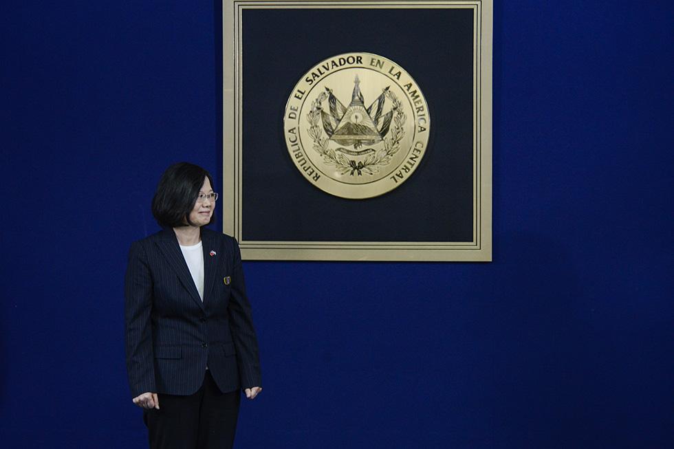 La presidenta  Tsai Ing-wen, cursó un Doctorado en Derecho, Escuela de Economía y Ciencias Políticas de Londres. Es la primera mujer que lidera la presidencia de la República de China (Taiwán). Foto: Vladimir Chicas