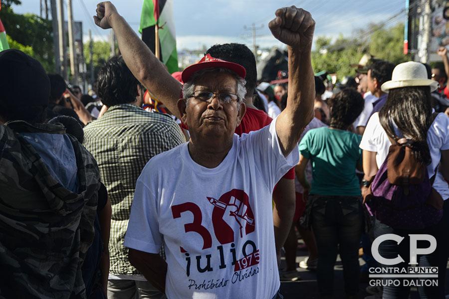 Los sobrevivientes de la masacre exigieron al Estado que se den a conocer los autores intelectuales de la represión en contra de los estudiantes universitarios.