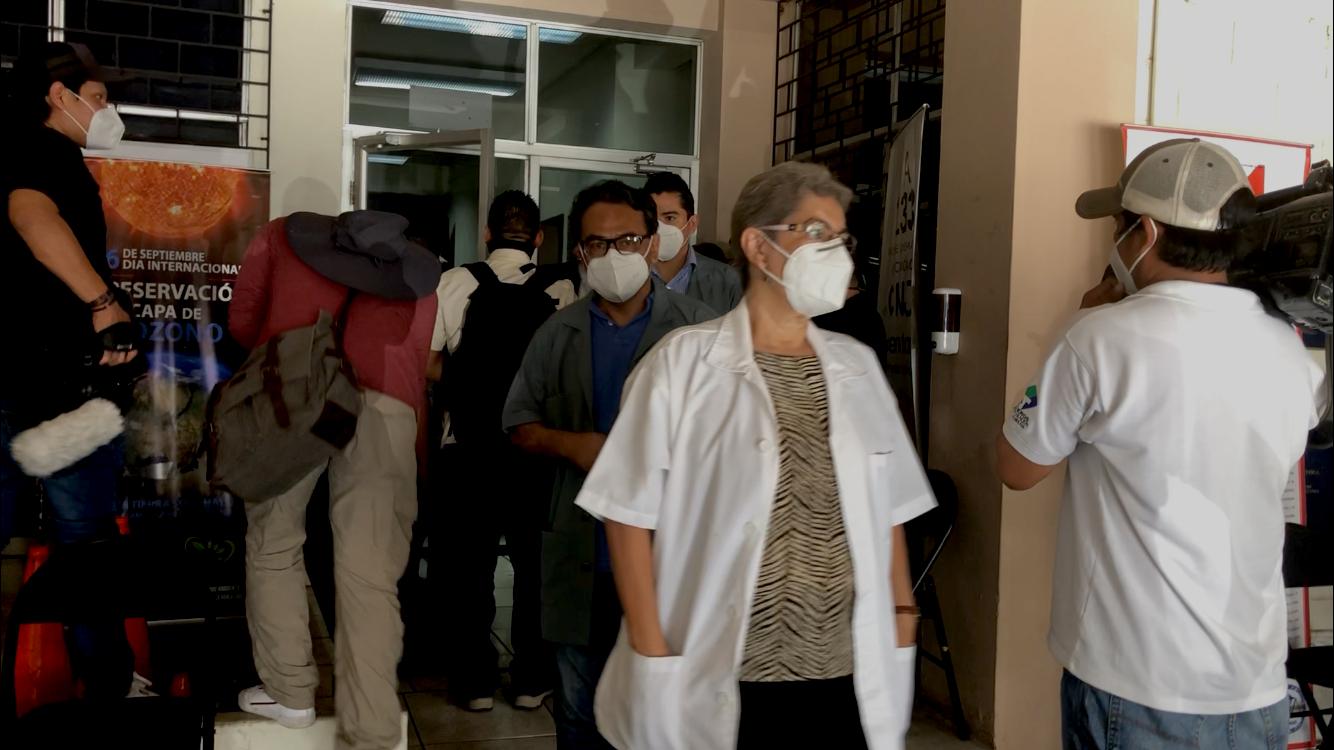 Peritos y procuradores del Ministerio Público se vieron obligados a firmar un acta dirimida por el Juez Jorge Guzmán, al momento en que el Estado Mayor Conjunto negó su acceso a las instalaciones militares e interrumpió el proceso de apertura de los expedientes militares.