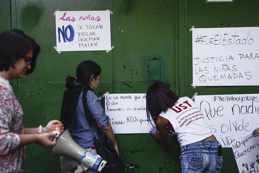 En El Salvador, diversas agrupaciones feministas  se han pronunciado por el caso, pidiendo al gobierno guatemalteco que esclarezca el caso.