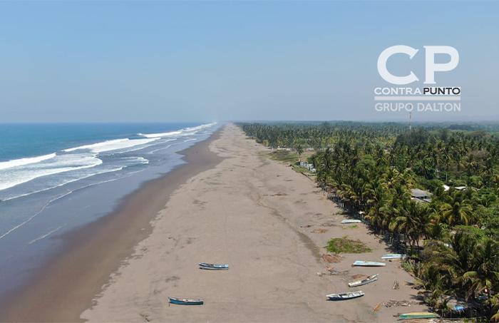 Playas que el año pasado estaban llenas de veraneantes, hoy lucen desiertas
