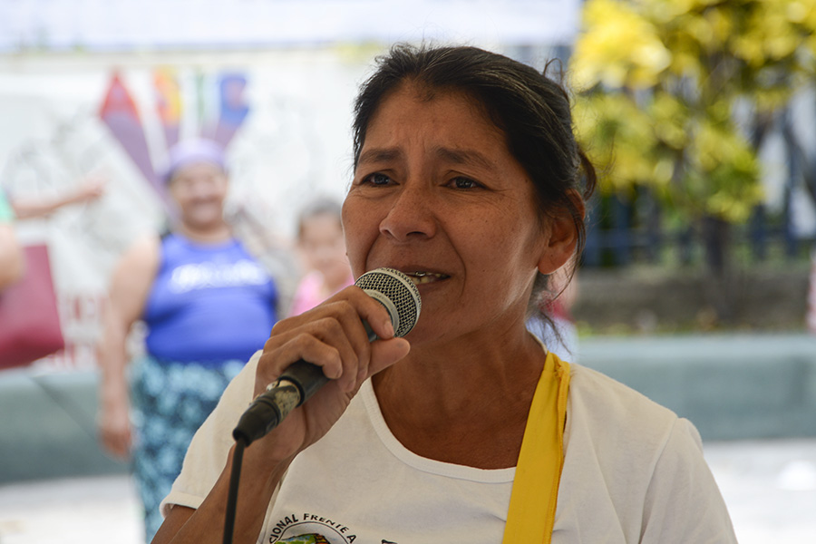 Vidalina Morales, de  la Asociación Nacional de Desarrollo Económico y Social (ADES), agradeció la aprobación de la ley, tras doce años de peticiones.