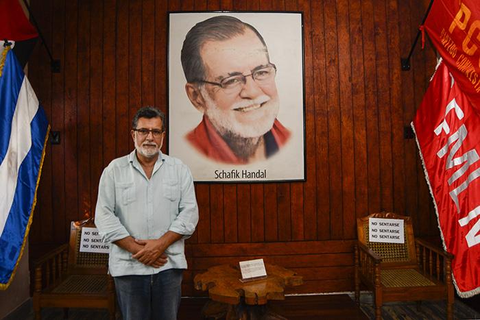 El Instituto Schafik Hándal fue creado por resolución de la Comisión Política del FMLN en abril de 2006, meses después del deceso del político. Su hijo, Jorge Schafik, dirige el instituto y el museo sobre su padre. Foto: Vladimir Chicas