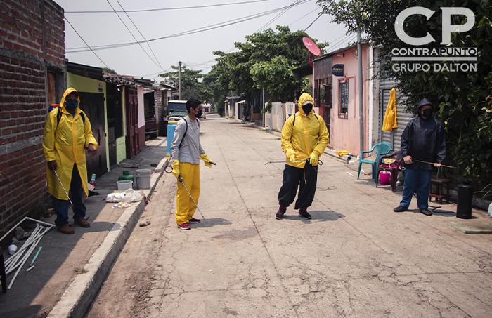 En Chalchuapa, todas las medidas son por iniciativa de las comunidades y realizadas con sus propios recursos
