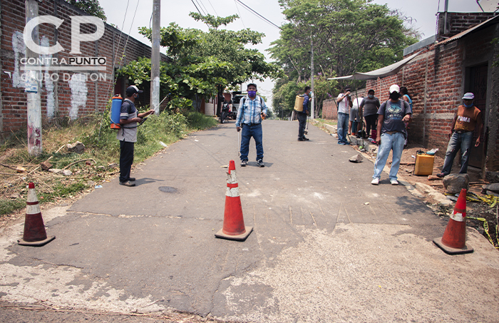 En el municipio de Chalchuapa, las comunidades han decidido bloquear el acceso a sus colonias