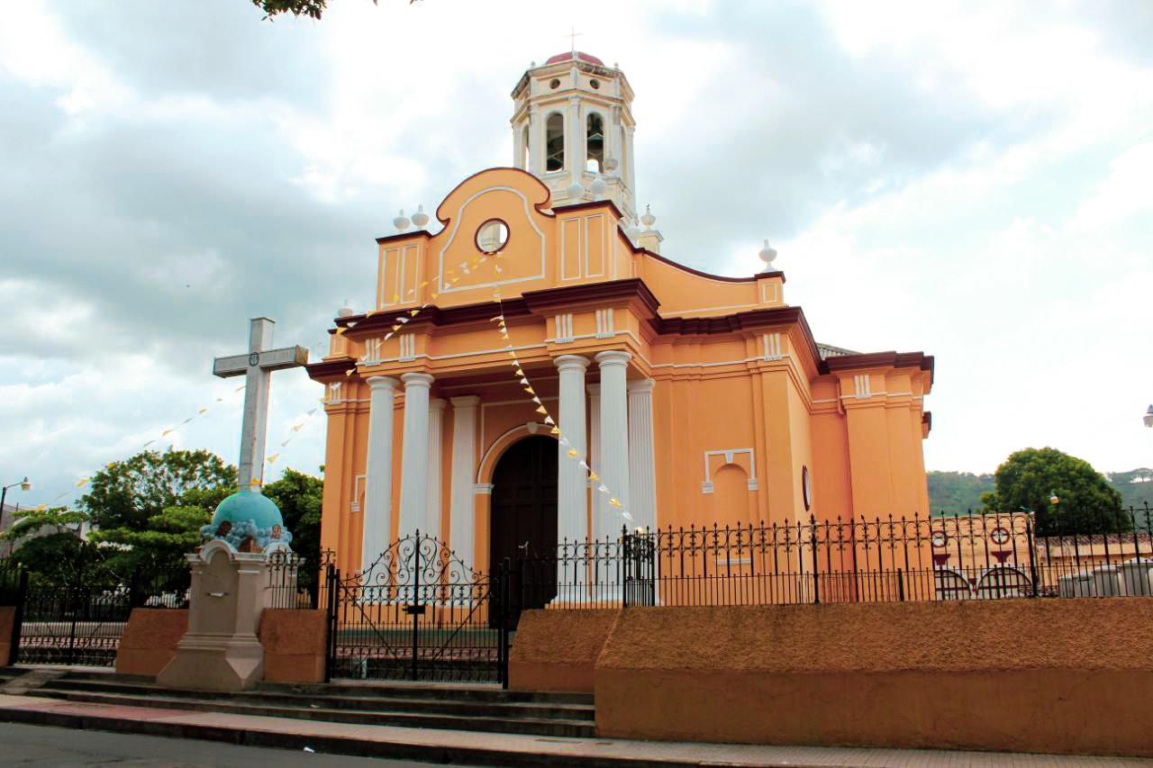 Iglesia de El Calvario en Santa Ana.