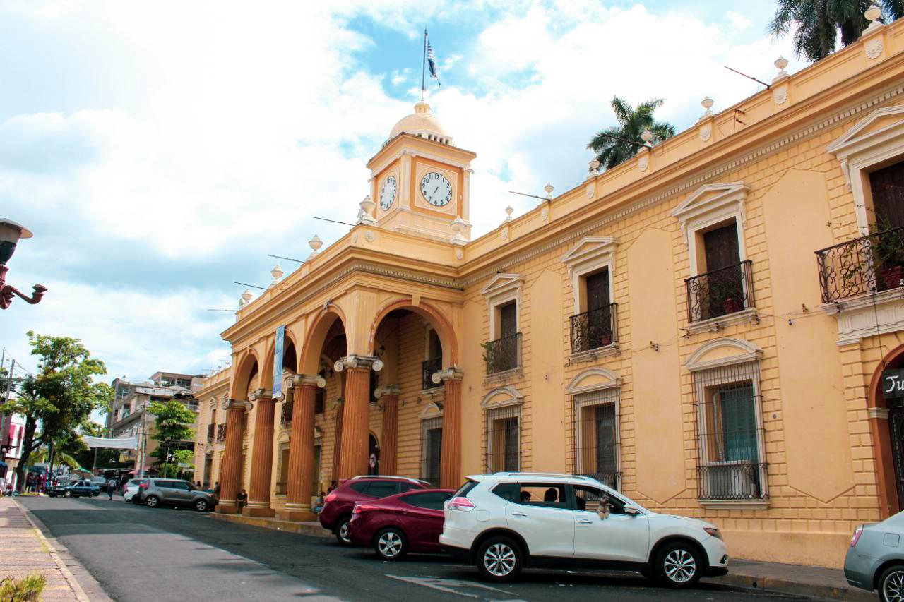 Alcaldía municipal de Santa Ana.