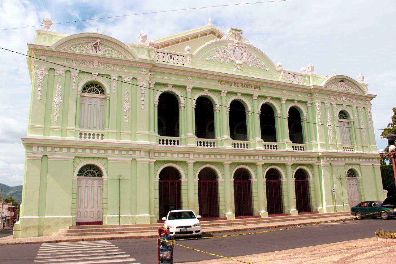 Teatro de Santa Ana.