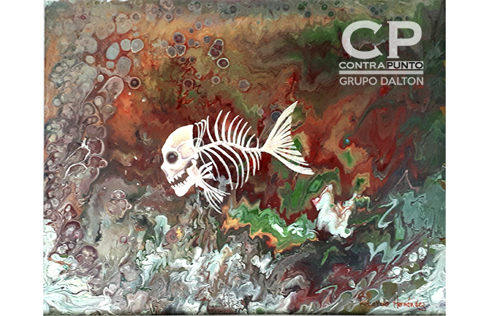 Obras realizadas por el artista salvadoreño Ricardo Hernández