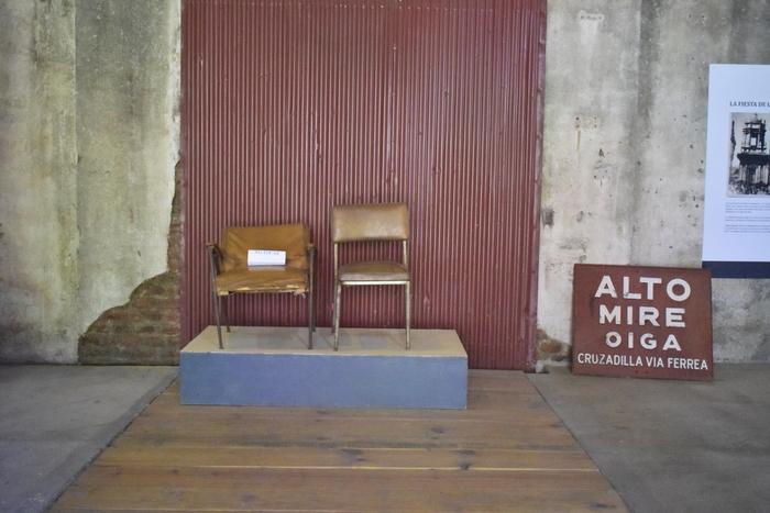 Estas sillas también forman parte de la historia de las oficinas municipales de Sosonate.