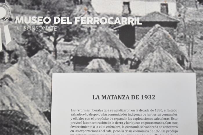 La historia de las masacres que sufrieron nuestros antepasados en un elemento muy importante en la información brindada por el personal del museo.