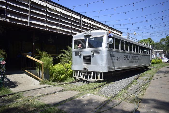 FESPAD organizó un encuentro con siete municipios en los cuales trabajan en prevención de violencia. en esta ocasión visitamos  Sonsonate y el museo del ferrocarril como un gran ejemplo de espacios recuperados.