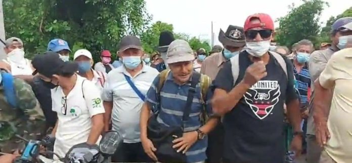 EN DESARROLLO: Veteranos de Guerra reiteran demandas sociales al Gobierno